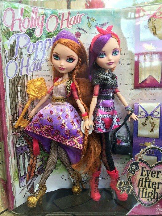Коробка с куклами Холли и Поппи Охейр фото