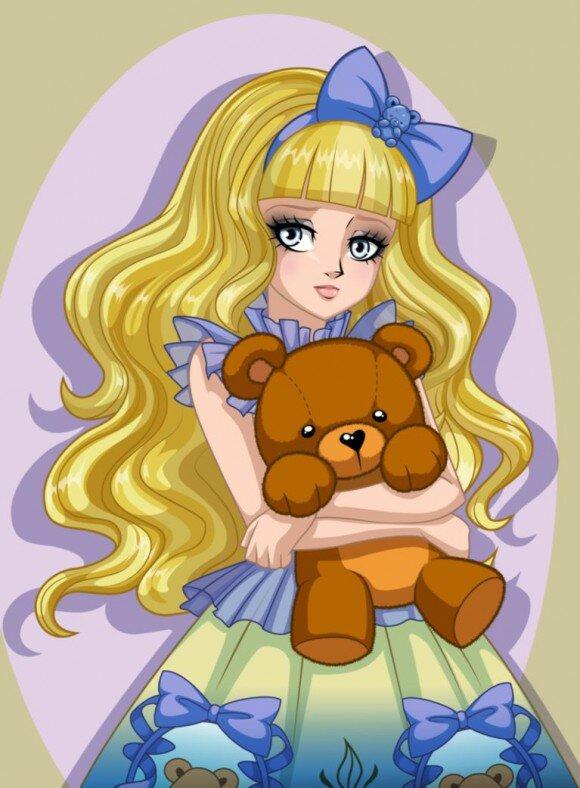 Блонди Локс картинка