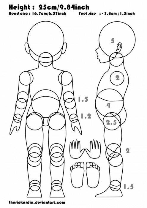 бжд кукла схема