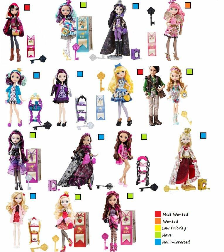 эвэрафтар хай куклы фото с именами