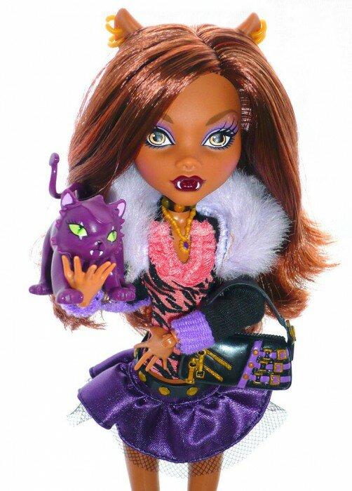 базовая кукла клодин вульф с питомцем