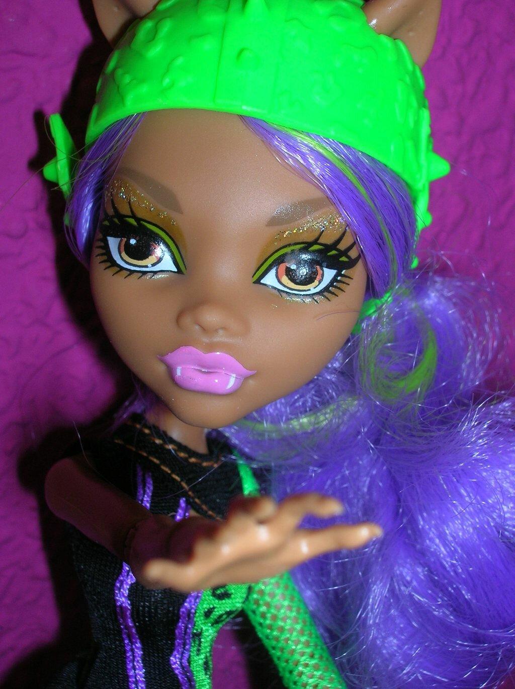 Причёска для куклы монстер хай фото