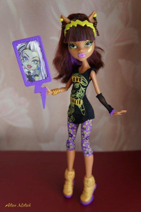 клодин вульф спасти фрэнки кукла