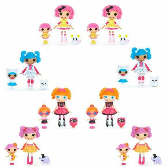лалалупси с сестрами куклы