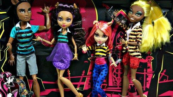 семья Вульф набор кукол монстер хай