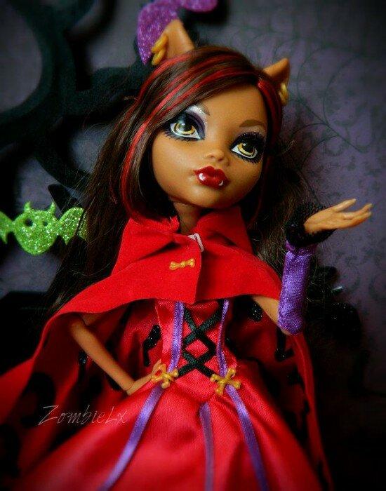 страшные сказки клодин вульф кукла