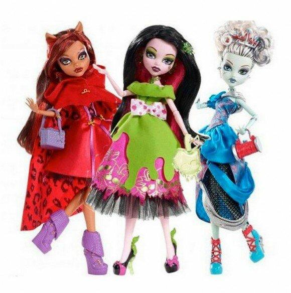 страшные сказки клодин вульф кукла2