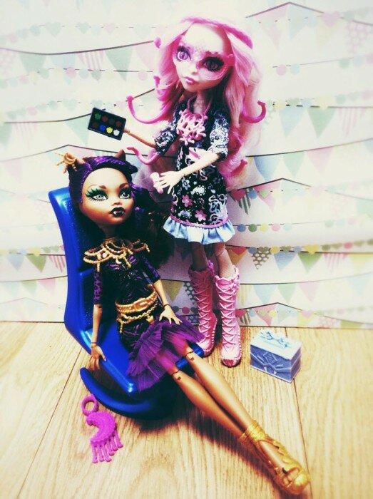 Вайперин горгон и клодин Вульф набор кукол