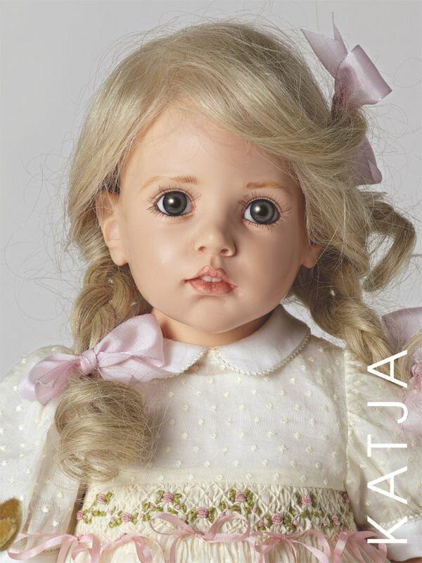 Кукла из холодный фарфор своими руками