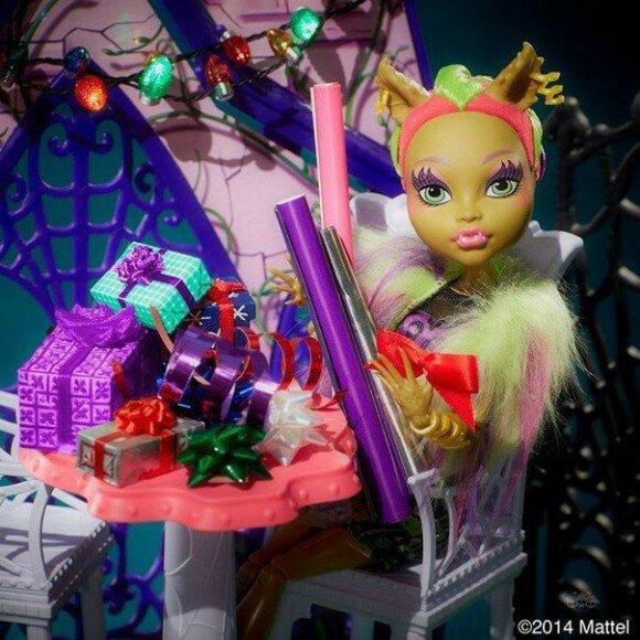 Кловенера серия Слияние монстров кукла клодин вульф2