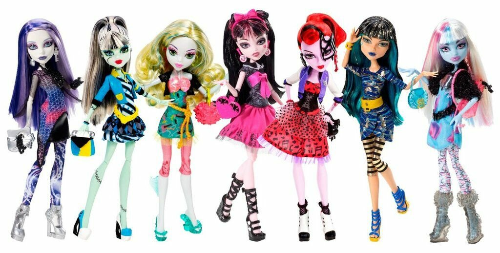 куклы картинки монстер хай