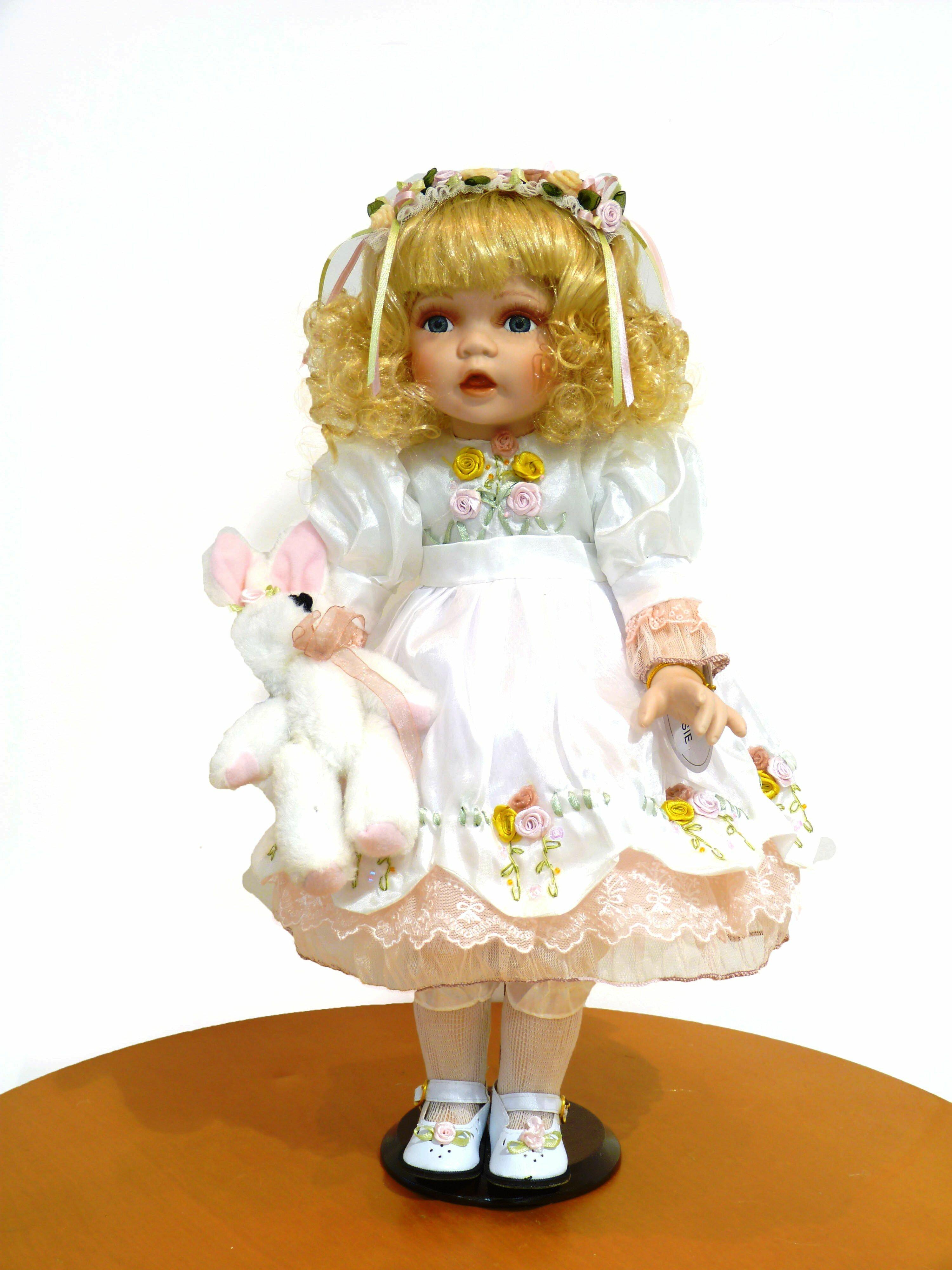 Подарочные фарфоровые куклы: фото и мастер классы