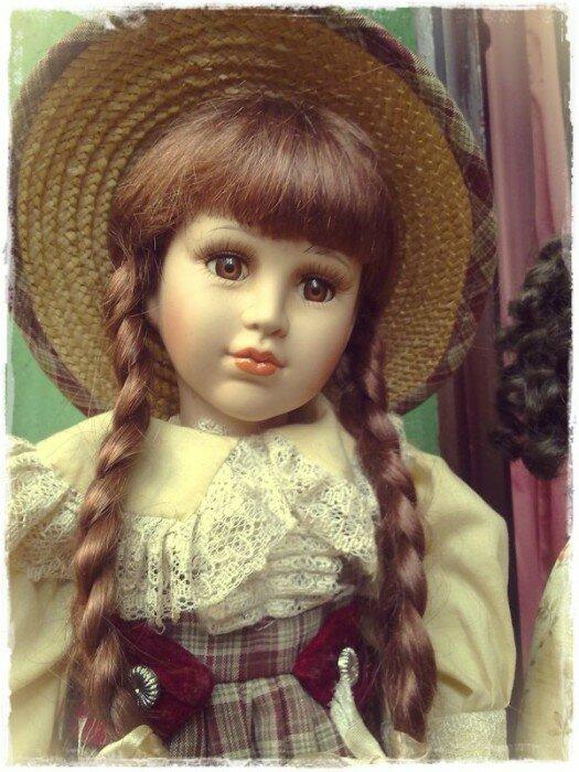 фарфоровая кукла фото2