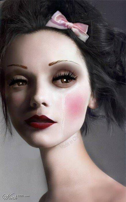фарфоровая кукла фото3