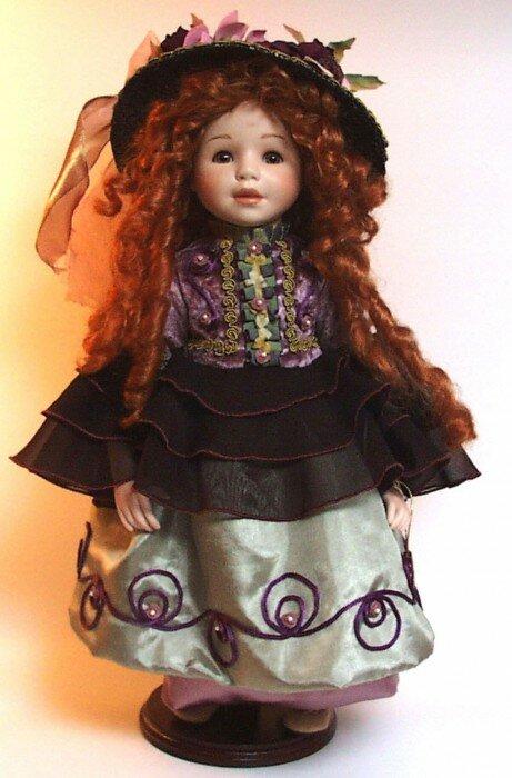 фарфоровая кукла фото5