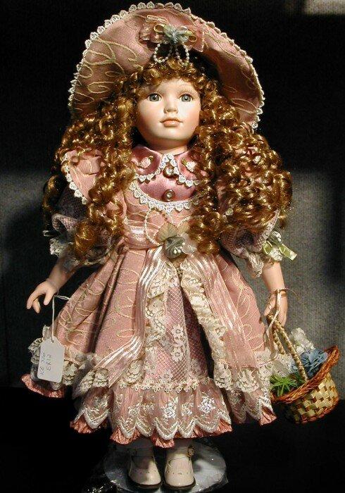 фарфоровая кукла фото6