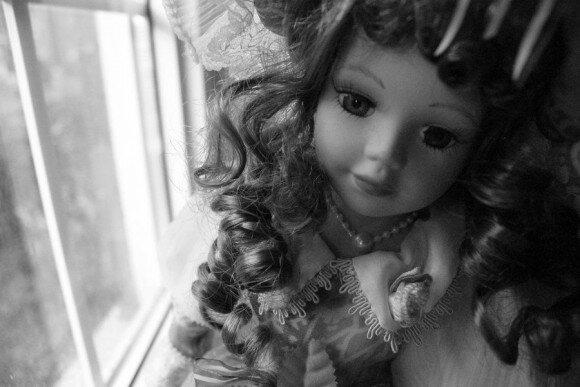 фарфоровая кукла фото