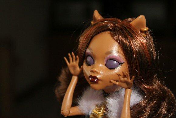 она живая кукла клодин вульф