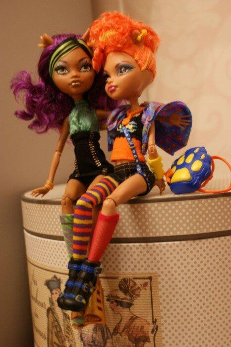клодин вульф и хоулин вульф куклы2
