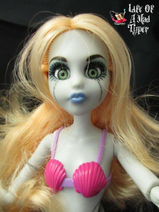 зомби русалка кукла2