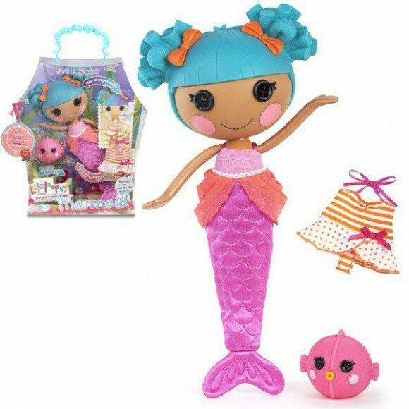 русалочка кукла лалалупси
