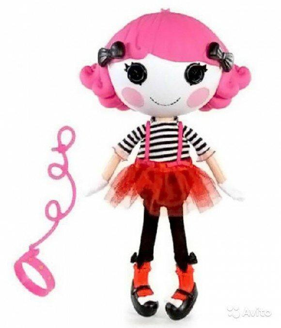 Веселый мим лалалупси кукла